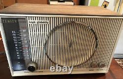 Rare Vintage Retro 1950s Zenith H 845 Tube Radio S-53555 High FidelityWavemagnet