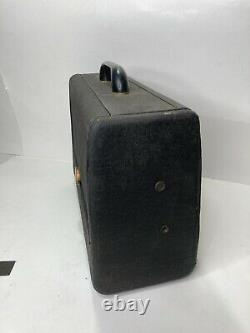 Rare Vintage Zenith Long Distance Tube Radio Model 6G001 With Manual