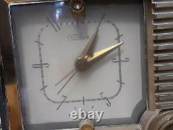Rare Vintage Zenith Telechron Standard Broadcast Alarm Radio