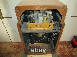 Rare Zenith Radio Console Radio Cabinet For Parts Or Restoration Work Whole Unit
