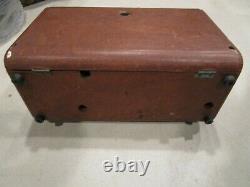 Rare Zenith Transoceanic R-520/URR tube military radio