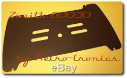 Reproduction Radio Back Zenith 6D030