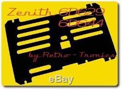 Reproduction Radio Back Zenith 6D629/6D644