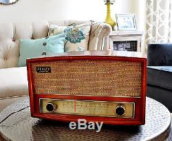 Restored, Near mint Old Antique Zenith Vintage G730 Tube Radio Works Perfect