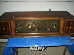 Restored Rare Zenith Super VII tube DC radio, ready to play