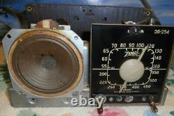 Restored Working 1941 Zenith 6 Tube Bakelite Am Table Radio 6d510