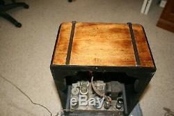 Restrored Zenith Tombstone Wood Tube Radio Model 5S29