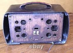 SWEET 1940 ZENITH 6D510 Bakelight Tube Radio Excellent Performer & Looker