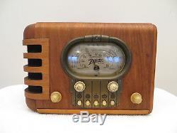 VINTAGE 1930s OLD ANTIQUE ZENITH CLASSIC DEPRESSION ERA MULTI BAND RADIO