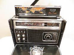 VINTAGE OLD ZENITH 7000 ANALOG SHORTWAVE MULTIBAND WORKING TRANSOCEANIC RADIO