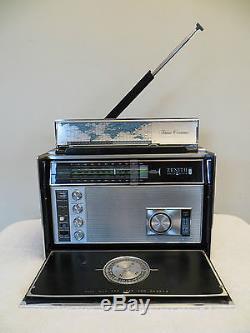 VINTAGE OLD ZENITH 7000 MID CENTURY MULTIBAND ANTIQUE TRANSOCEANIC RADIO L@@K