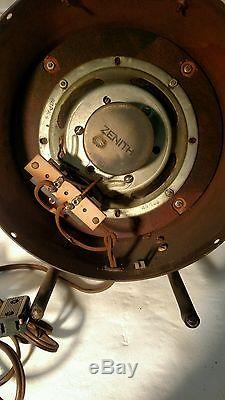 VINTAGE TUBE RADIO SPEAKER, VERY RARE, ZENITH BOAT & TRAILER SPEAKER