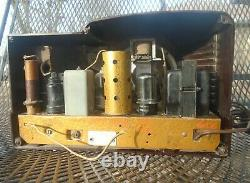 VINTAGE ZENITH TABLETOP Tube RADIO MODEL 5-R-312 1938 WORKING