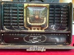 VINTAGE Zenith Trans-Oceanic Clipper Radio 8G005TZ1 Parts ONLY/ For Restoration
