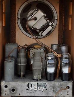 VTG (1934) Zenith 807 Wood Tube Radio Broadcast & Shortwave Receiver BEAUTIFUL