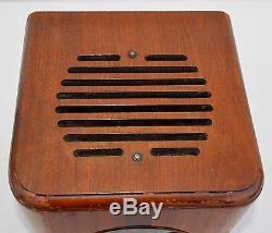 VTG (1938) Zenith CUBE 5-S-220 BC & SW Tube Radio Receiver BEAUTIFUL