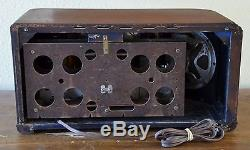 VTG (1941) Zenith 7S633 Broadcast & Shortwave Tube Radio Receiver WORKS