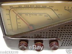 VTG ZENITH G-723 BAKELITE TUBE RADIO WORKS GOOD TESTED SERVICED PERFECT