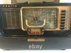 VTG Zenith Trans-Oceanic Multi-Band Tube Radio H500