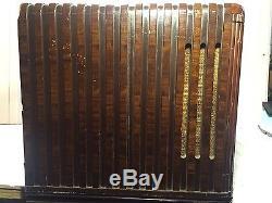 Vintage 1940 Zenith 12-S-445 Shutterdial Radio