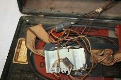 Vintage 1940's WW ll Era Zenith B17 Bomber Trans-Ocean Shortwave Radio 7G605