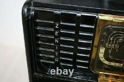Vintage 1940's Zenith TransOceanic Shortwave Radio 8G005YT With Book Working