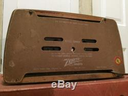 Vintage 1946 Zenith Model 6D030 Designed By Charles Eames WithShipping Box