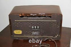 Vintage 1946 Zenith Table Top Radio Model 8H034 No S-11619 Charles Ray Eames USA