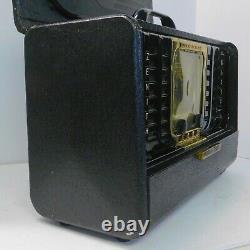 Vintage 1947 Zenith Trans Oceanic Model 8G005TZ1 DTD Nov 2, 1947 Nice! Read On