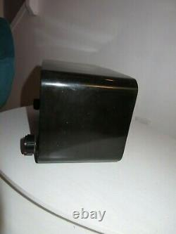 Vintage 1948 1949 Zenith Tube Radio Model 5D810 The Pacemaker in Jet Black