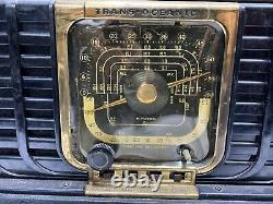 Vintage 1948 Zenith Trans Oceanic Model 8G005! PARTS! UNTESTED