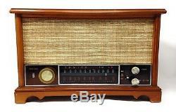 Vintage 1950's Zenith K-731 Long Distance AM/FM Tube Radio Needs New Caps