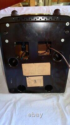 Vintage 1951Working Zenith Bakelite COBRA-MATIC Tube Radio Phonograph M- J664