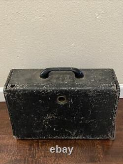 Vintage Antique Zenith Long Distance AM Tube Radio 6G004Y World Wide