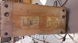 Vintage Art Deco 1940's Zenith Radio Model 6d030 Works