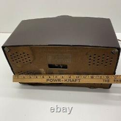 Vintage Bakelite Zenith Radio AM FM Model G725 Works