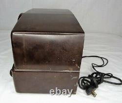 Vintage Bakelite Zenith Tone Register Tube Radio Model 7H920-FOR PARTS ONLY