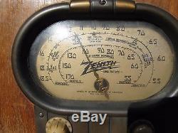 Vintage Original1939 Zenith 5S319 Racetrack Excellent Working Original condition