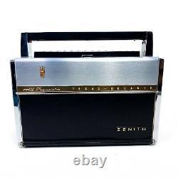 Vintage Radio Zenith TransOceanic Royal 1000-D BC & Short Wave WaveMagnet Works