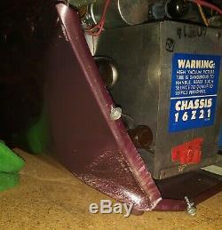 Vintage Rare Working Zenith Bug Eye Model#Z1818R CRT#17AVP4A (Read Description)