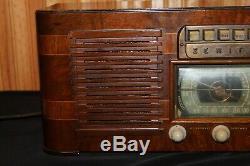 Vintage Restored Zenith 6- S- 527 WORKING