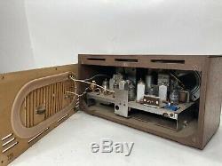 Vintage Retro ZENITH Tube Radio Model M730 AM/FM Wood Cabinet Mid Century Modern
