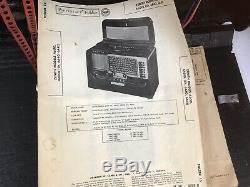 Vintage ZENITH A600 WAVE MAGNET TRANS-OCEANIC World Band Portable TUBE HAM RADIO
