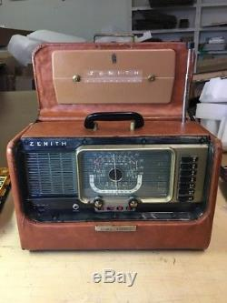 Vintage ZENITH H500 WAVEMAGNET TRANS-OCEANIC World Band