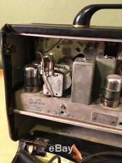 Vintage ZENITH LONG DISTANCE TUBE RADIO 6G001YX WAVE MAGNET c. 1946