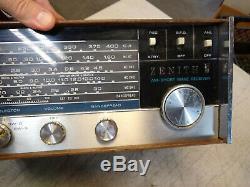 Vintage ZENITH M660A Amateur Marine Short Wave Vacuum Tube Receiver