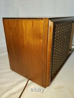 Vintage ZENITH M730 Wooden Radio 7 Tube Antique FM AM Sign Tubed 1950's RARE