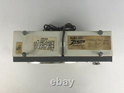 Vintage ZENITH Model J512 Desk Table AM Tube Radio J512W Receiver