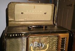 Vintage ZENITH TRANSOCEANIC MODEL H500 CHASSIS 5H40- In Excellent Working Order