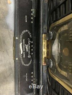 Vintage ZENITH Trans-Oceanic 8G005TZ1 SHORTWAVE RADIO Very Nice